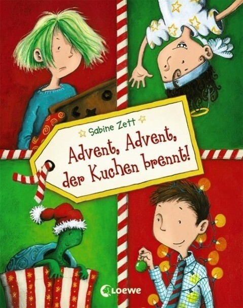 Advent, Advent, der Kuchen brennt! als Buch