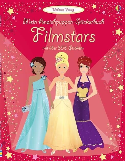 Mein Anziehpuppen-Stickerbuch: Filmstars als Buch