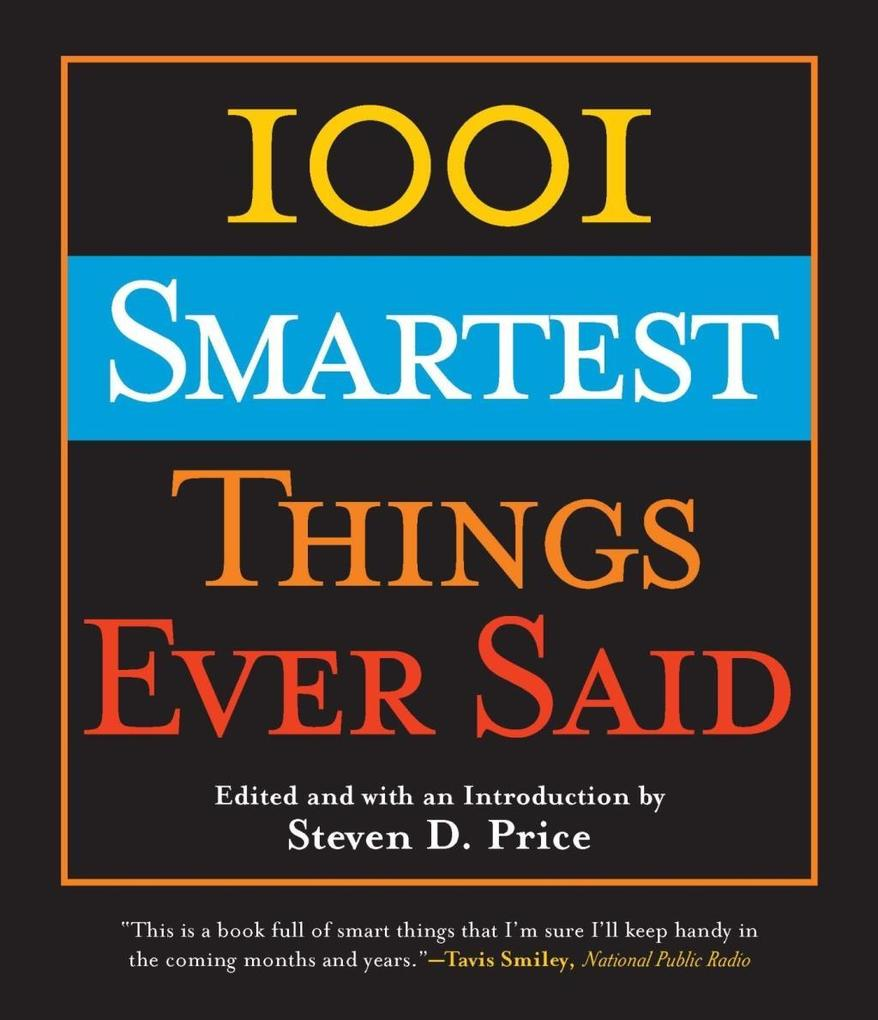 1001 Smartest Things Ever Said als eBook Downlo...