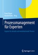 Prozessmanagement für Experten