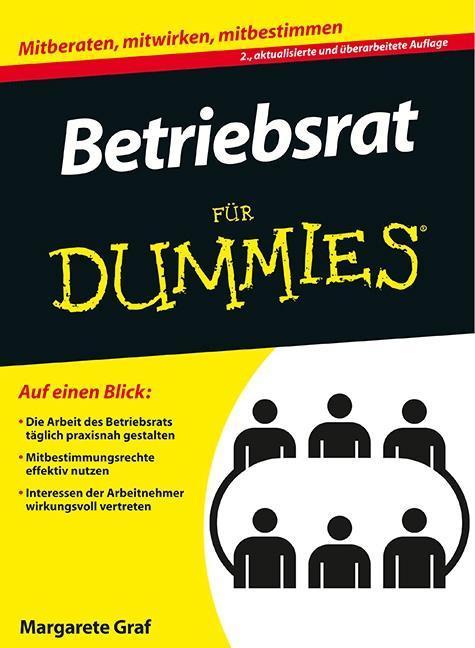 Betriebsrat für Dummies als Buch von Margarete ...