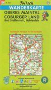 Oberes Maintal, Coburger Land 1 : 50 000. Fritsch Wanderkarte