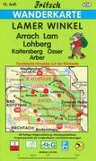 Lamer Winkel 1 : 35 000. Fritsch Wanderkarte