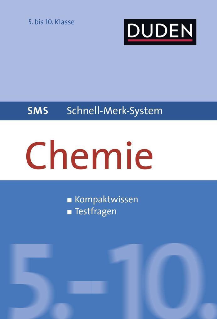 SMS Chemie 5.-10. Klasse als Buch von Claudia P...