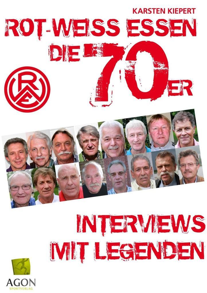 Rot-Weiss Essen - Die 70er als Buch von Karsten Kiepert