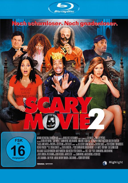 Scary Movie 2 als Blu-ray