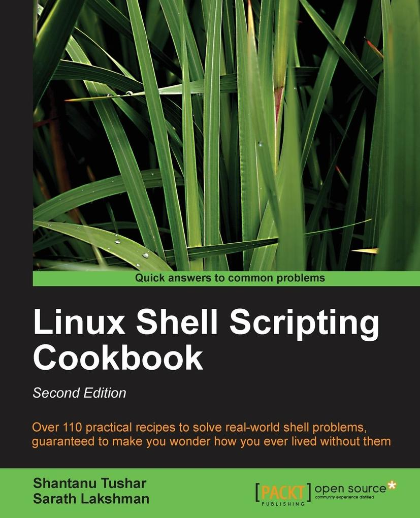 Linux Shell Scripting Cookbook, Second Edition ...
