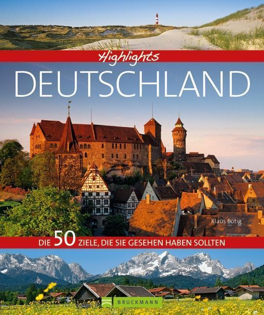 Highlights Deutschland als Buch von Eva Becker,...