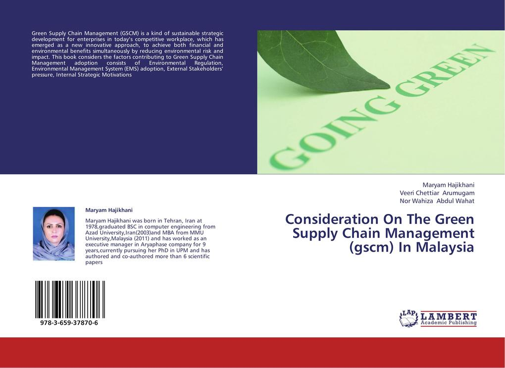 Consideration On The Green Supply Chain Managem...