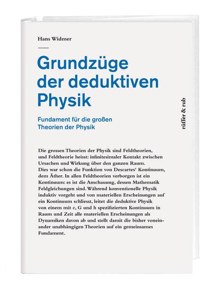 Grundzüge der deduktiven Physik als Buch von Ha...