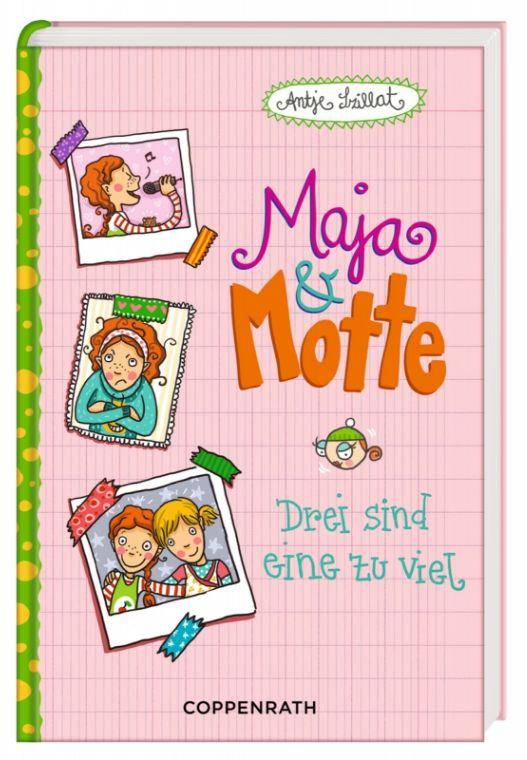 Maja & Motte 02 - Drei sind eine zu viel als Bu...