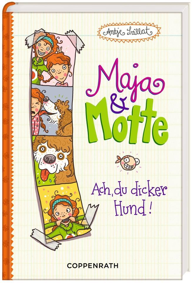 Maja & Motte 01 - Ach, du dicker Hund! als Buch...