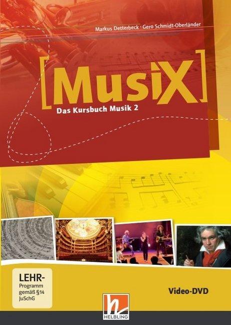 MusiX - Das Kursbuch Musik 2. Video-DVD