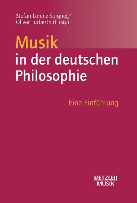 Musik in der deutschen Philosophie als Buch von