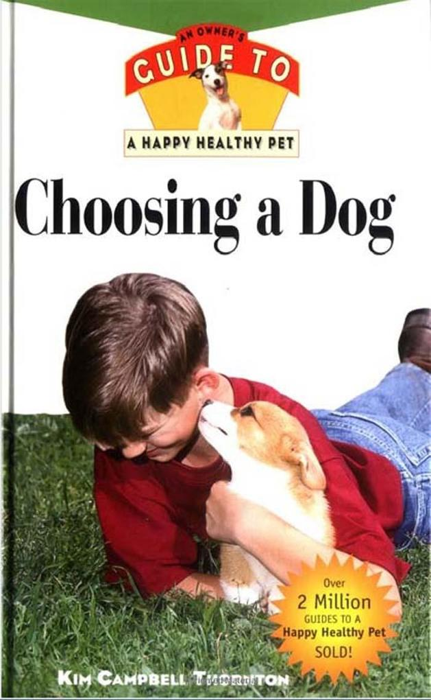 Choosing a Dog als eBook Download von Kim Campb...