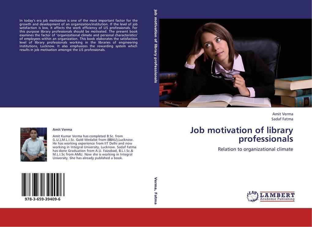Job motivation of library professionals als Buc...
