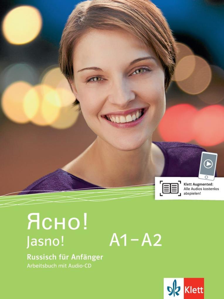 Jasno! Arbeitsbuch mit Audio-CD A1-A2 als Buch