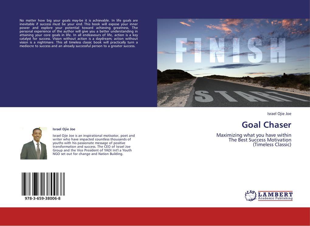 Goal Chaser als Buch von Israel Ojie Joe