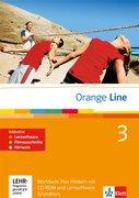 Orange Line. Workbook Fördern mit Audio-CD und CD-ROM Teil 3 (3. Lernjahr) Grundkurs