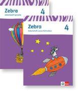 Zebra. Paket (Arbeitsheft Sprache und Arbeitsheft Lesen und Schreiben) 4. Schuljahr. Neubearbeitung