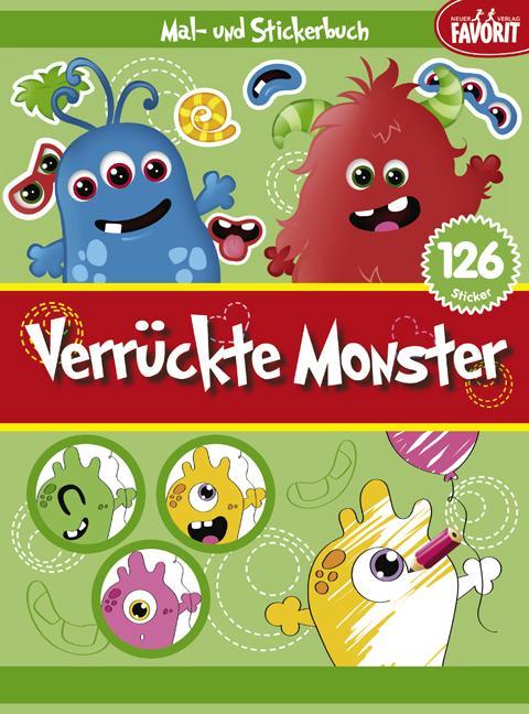 Verrückte Monster als Buch von