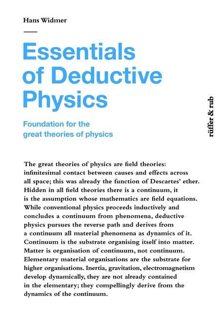 Essentials of Deductive Physics als Buch von Ha...
