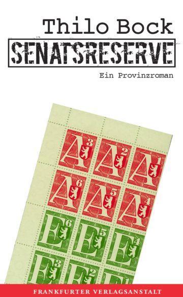 Senatsreserve als eBook Download von Thilo Bock - Thilo Bock