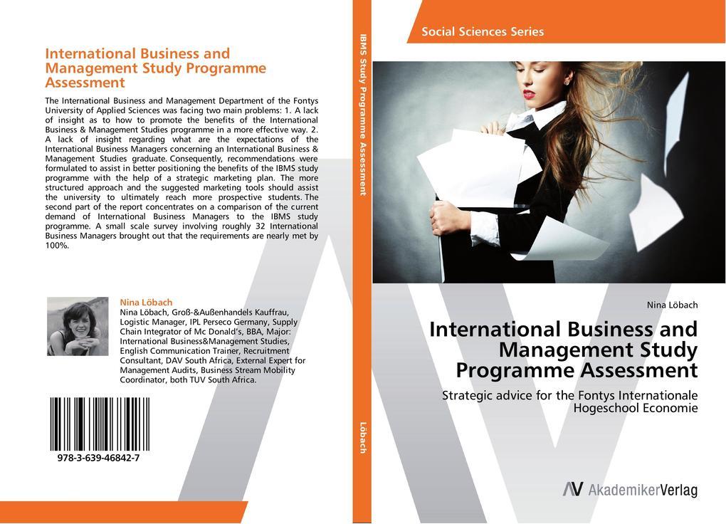 International Business and Management Study Pro...