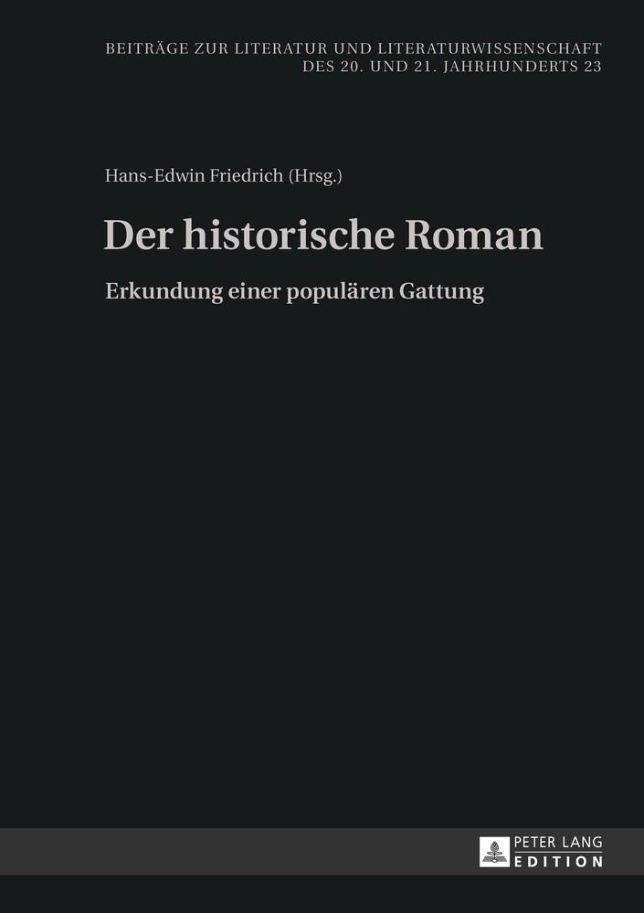 Der historische Roman als Buch