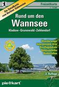 PIEKART Freizeitkarte Rund um den Wannsee 1 : 15.000