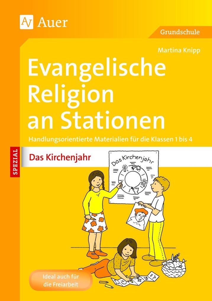 Evangelische Religion an Stationen Das Kirchenj...