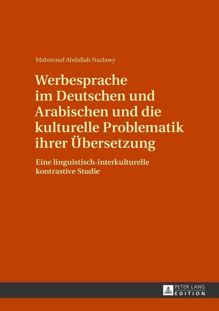 Werbesprache im Deutschen und Arabischen und di...