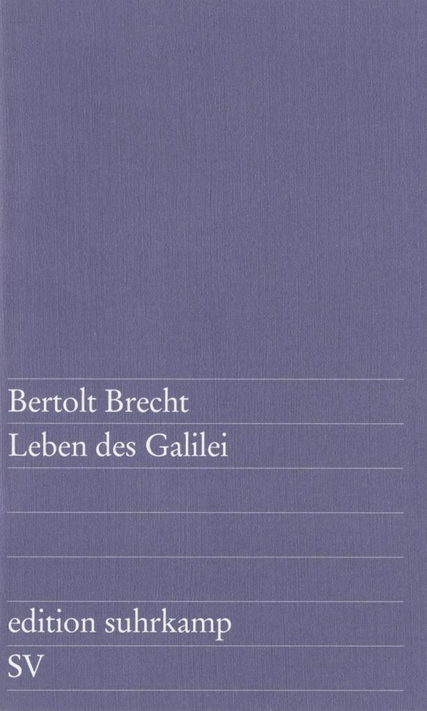 Leben des Galilei als eBook