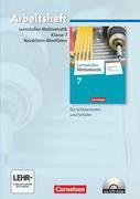 Lernstufen Mathematik 7. Schuljahr. Arbeitsheft mit eingelegten Lösungen und CD-ROM. Differenzierende Ausgabe Nordrhein-Westfalen