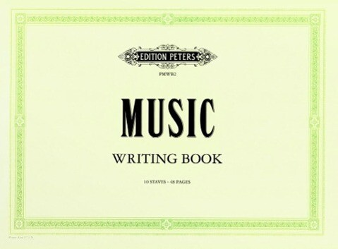 Peters Music Writing Book als Buch von Edition ...
