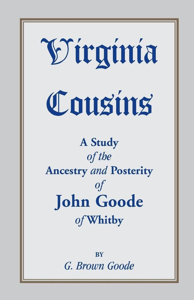 Virginia Cousins als Taschenbuch