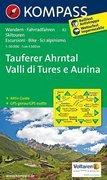 Tauferer Ahrntal - Valli di Tures e Aurina 1 : 50 000