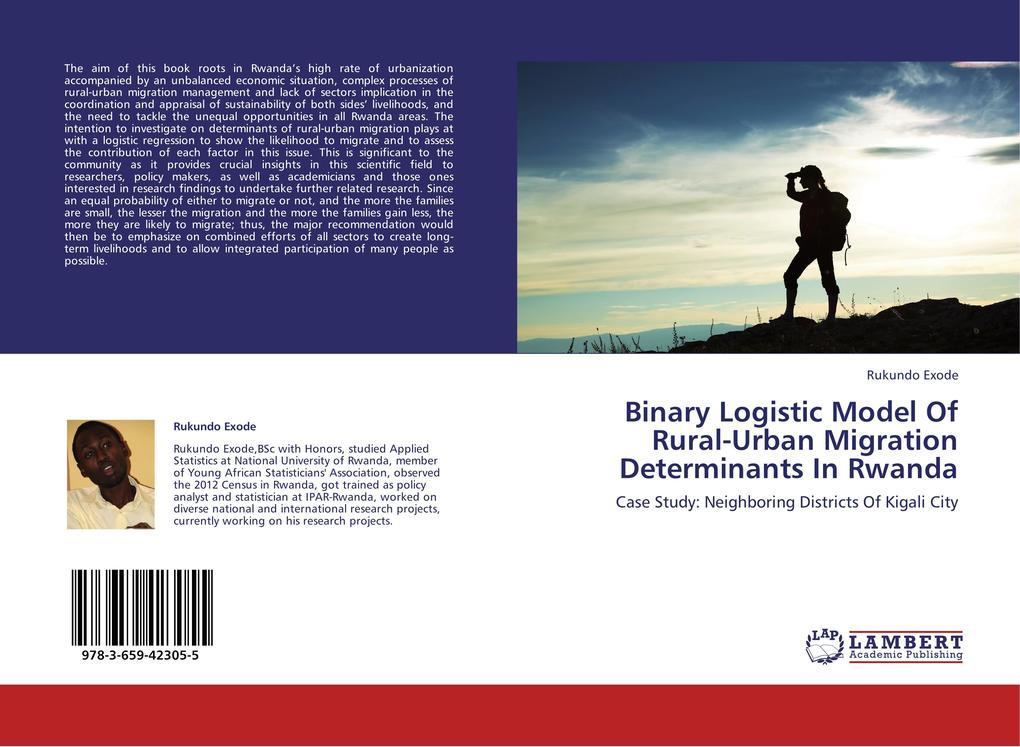 Binary Logistic Model Of Rural-Urban Migration ...
