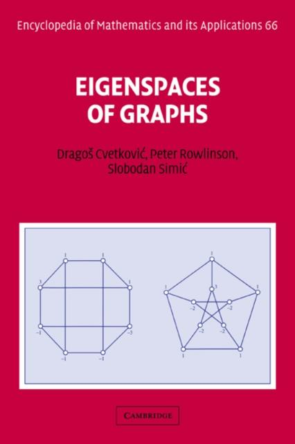 Eigenspaces of Graphs als eBook Download von Dr...