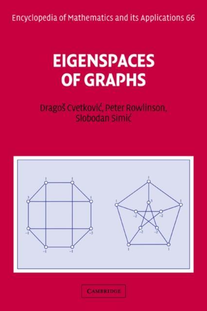 Eigenspaces of Graphs als eBook Download von Dr...