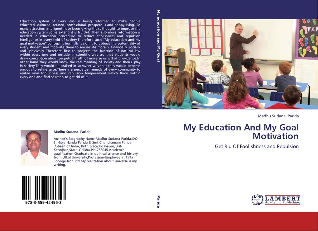 My Education And My Goal Motivation als Buch vo...