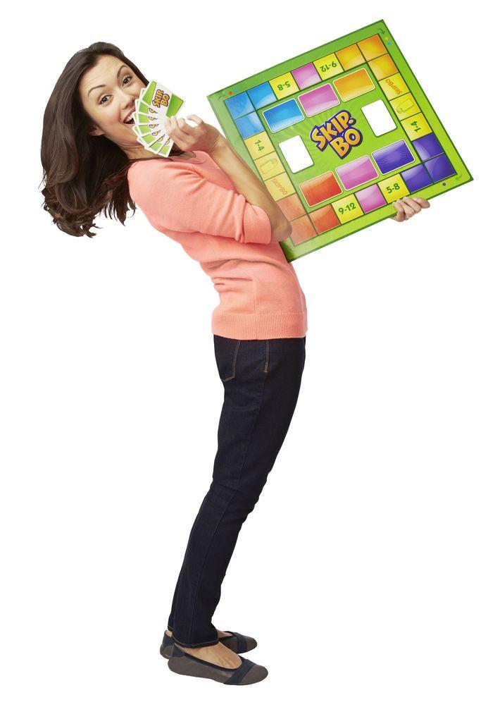Mattel Games - Skip-Bo Brettspiel