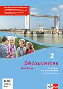 Découvertes Série bleue 2. Fit für Tests und Klassenarbeiten. Arbeitsheft mit Lösungen und CD-ROM. ab Klasse 7