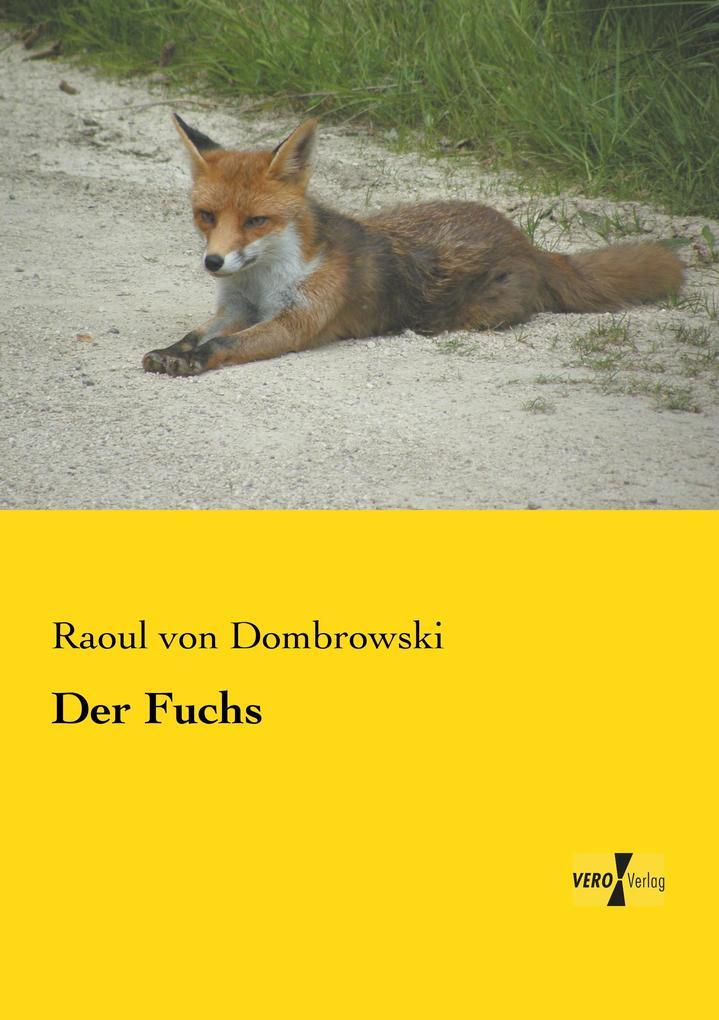 Der Fuchs als Buch von Raoul von Dombrowski