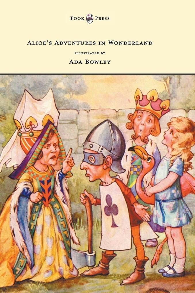Alice's Adventures in Wonderland - Illustrated by Ada Bowley als Buch (gebunden)