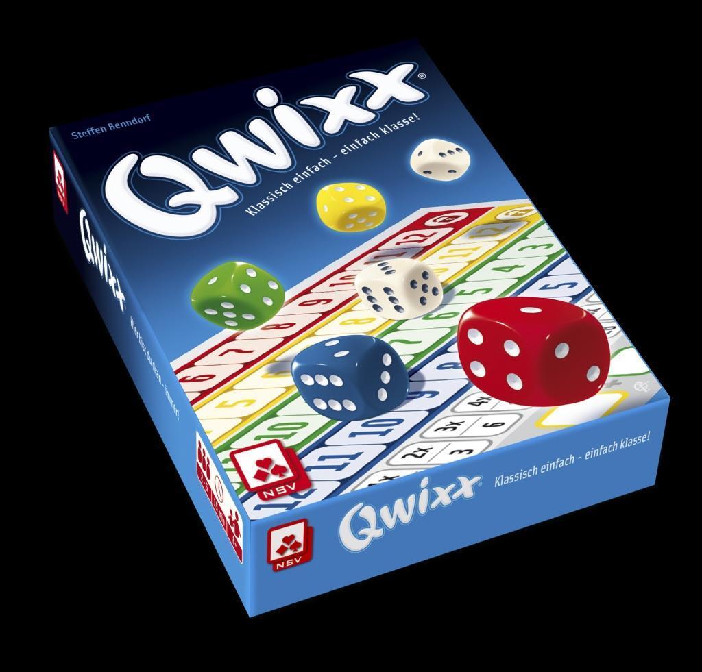 Nürnberger Spielkarten - Qwixx als Spielwaren