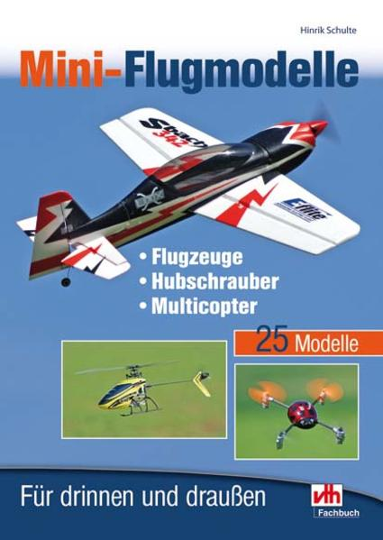 Mini-Flugmodelle als Buch von Hinrik Schulte