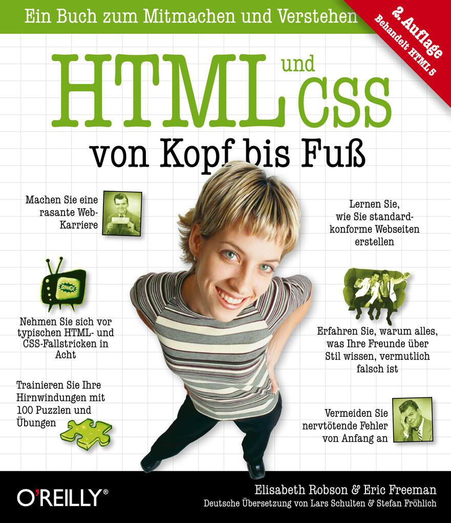HTML und CSS von Kopf bis Fuß als eBook Downloa...