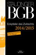 Kommentar zum Bürgerlichen Gesetzbuch mit Einführungsgesetz und Nebengesetzen. Ergänzungsband - Eckpfeiler des Zivilrechts 2014/2015