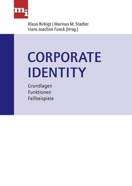 Corporate Identity als Buch von Gisela Birkigt,...